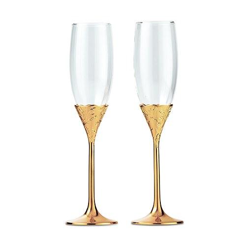 Сватбени чаши-Златен блясък