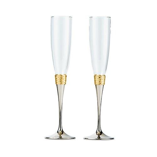 Сватбени чаши-Ковано злато